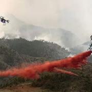 无人机消防预警